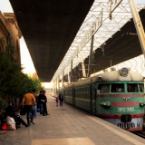 railway trip to armenia